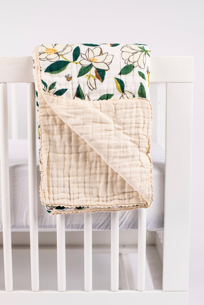 Cute Girls Baby Blanket | ROOLEE