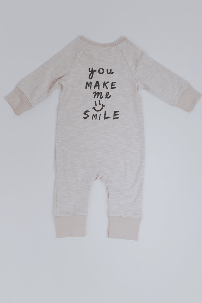 You Make Me Smile Print Onesie | ROOLEE