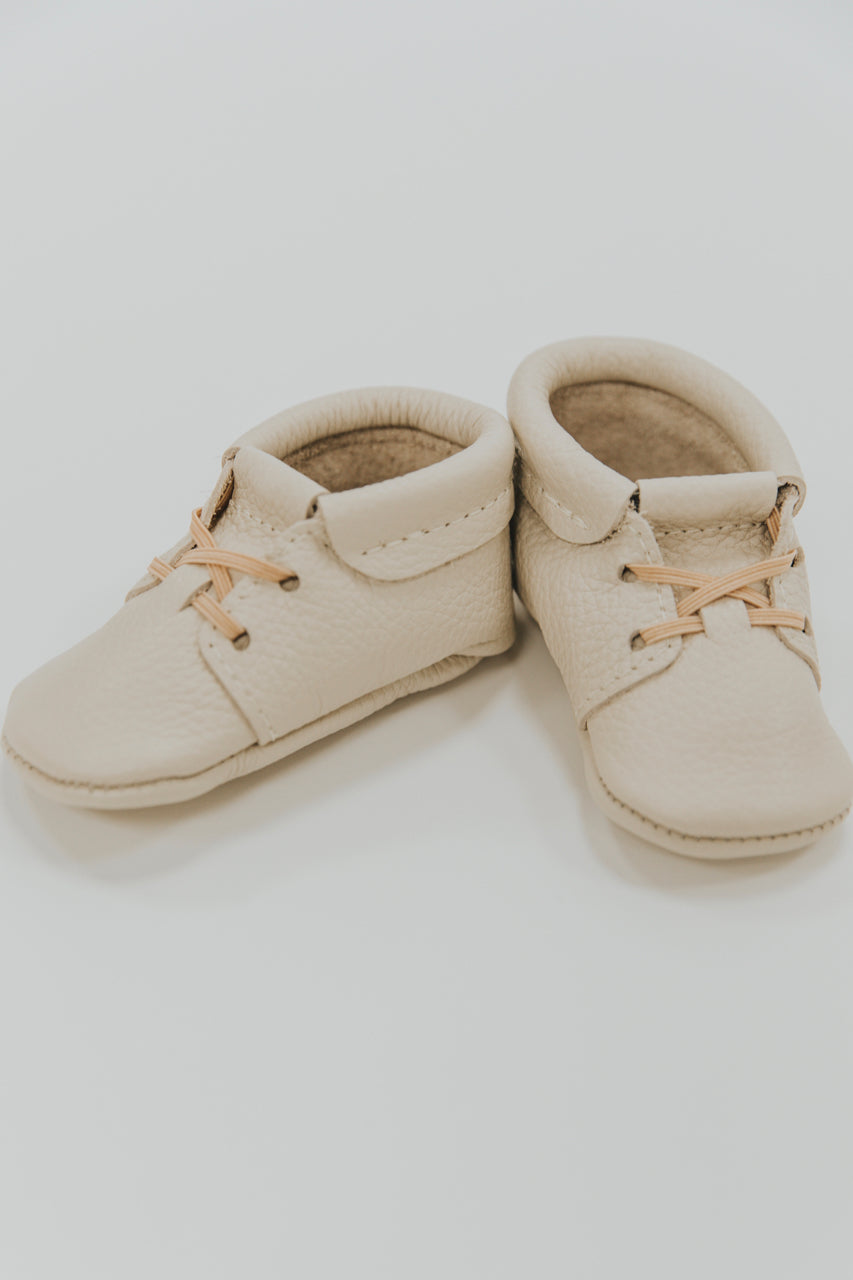 Freshly Picked Birch Leather Oxfords | ROOLEE Kids