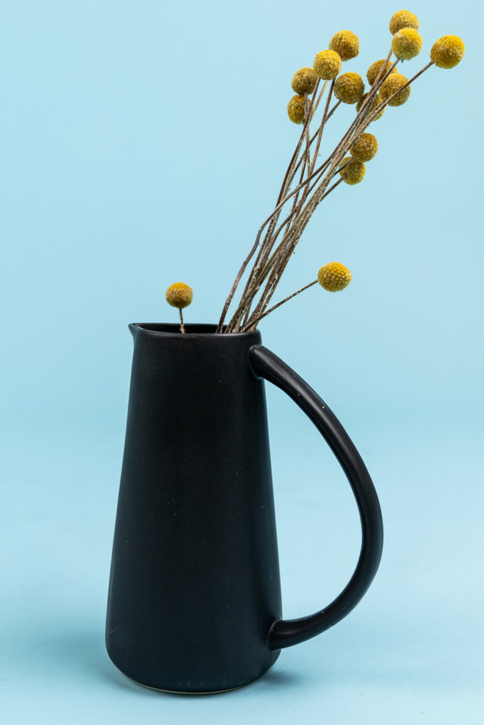 Black Stoneware pitcher | ROOLEE