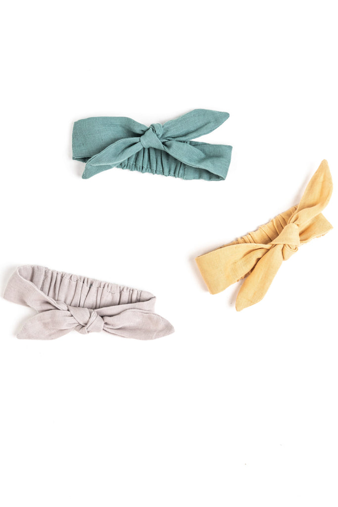 Adjustable Baby Girl Headbands with Bows | ROOLEE