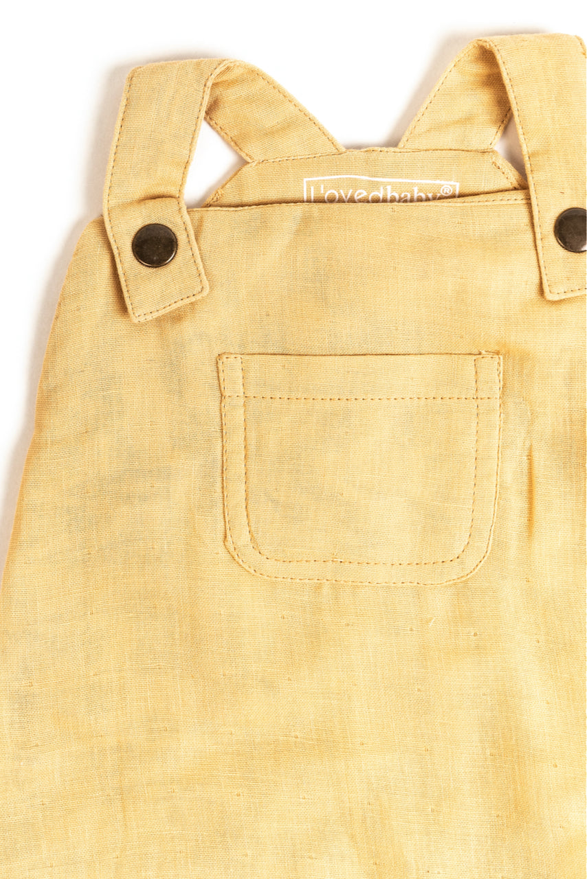 light yellow baby overalls | ROOLEE