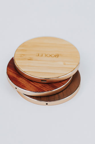 Wood Wireless Charger | ROOLEE