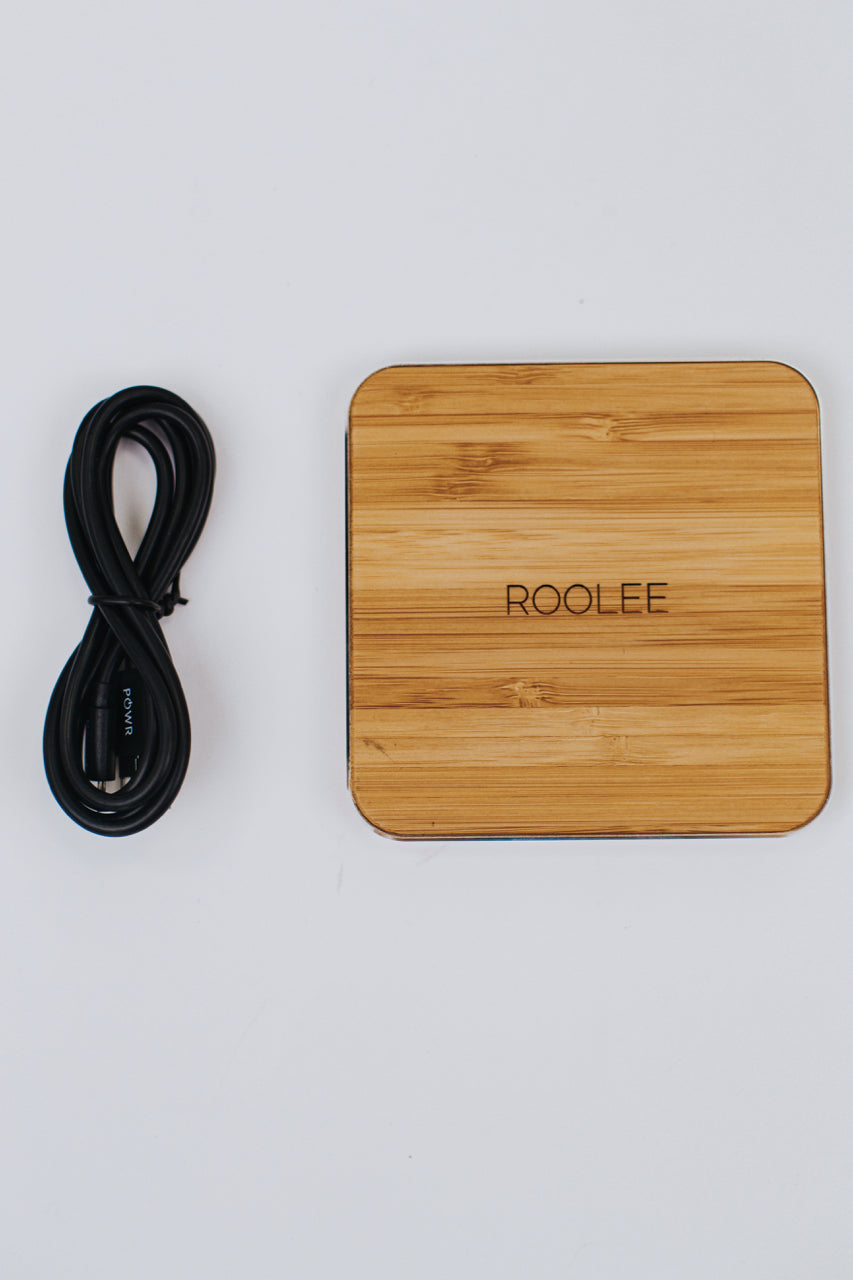 Bamboo Wireless Charger | ROOLEE
