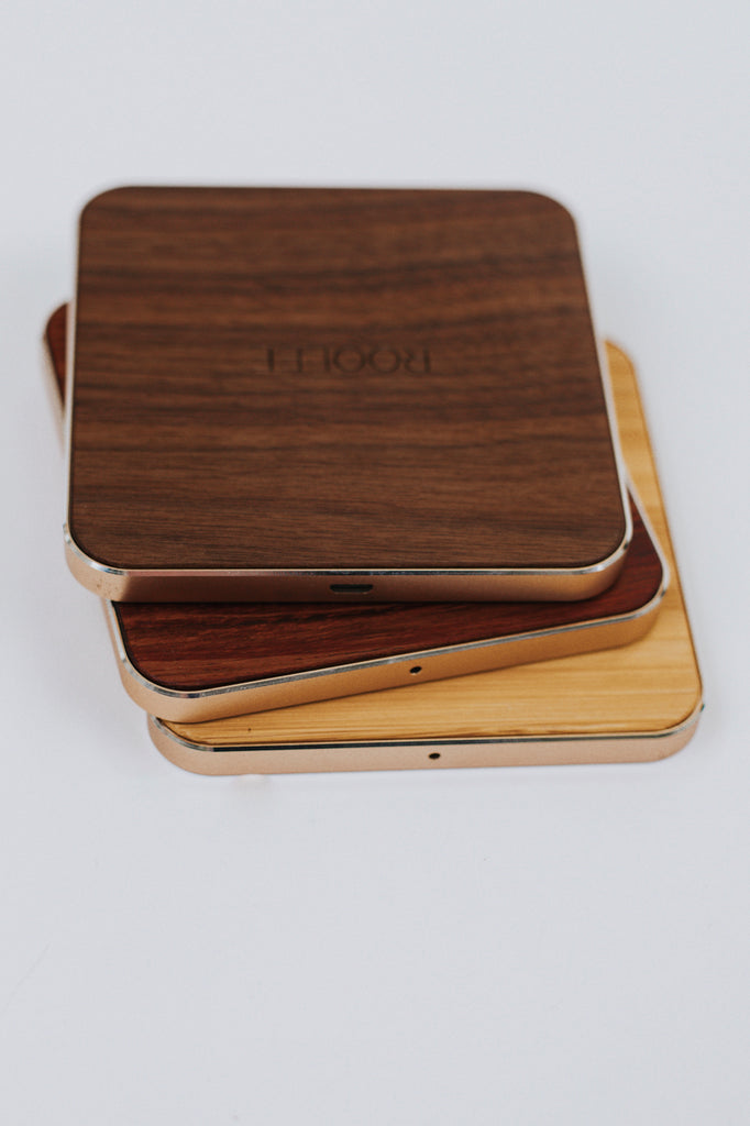Wood Wireless Chargers | ROOLEE