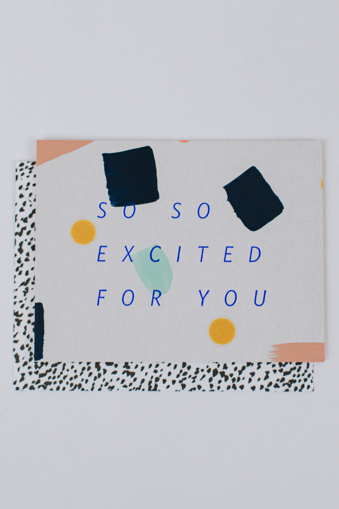 Congratulatory Card Hand Painted | ROOLEE