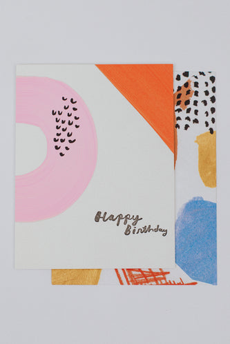 Hand Painted Birthday Card | ROOLEE