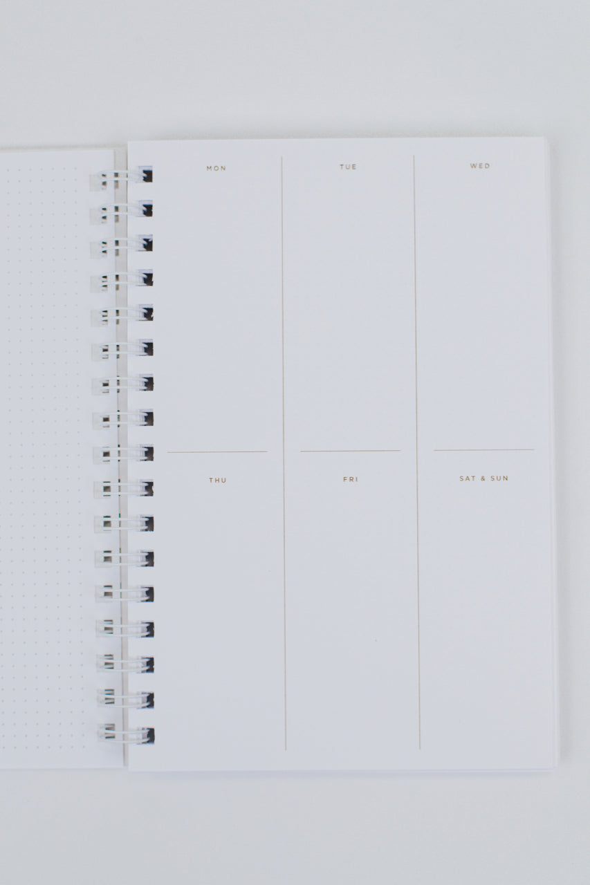 Minimalist Organization Notebook | ROOLEE