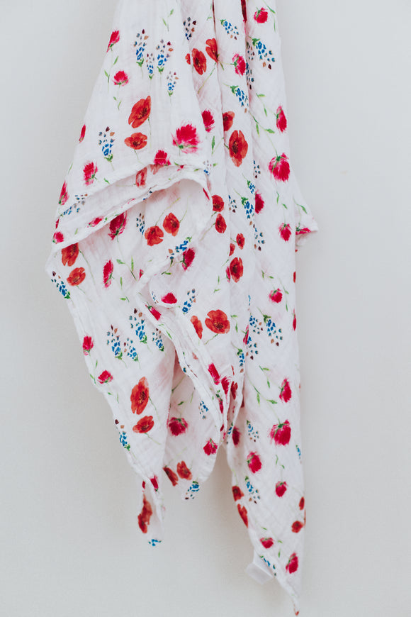 Cotton Muslin Swaddle | ROOLEE