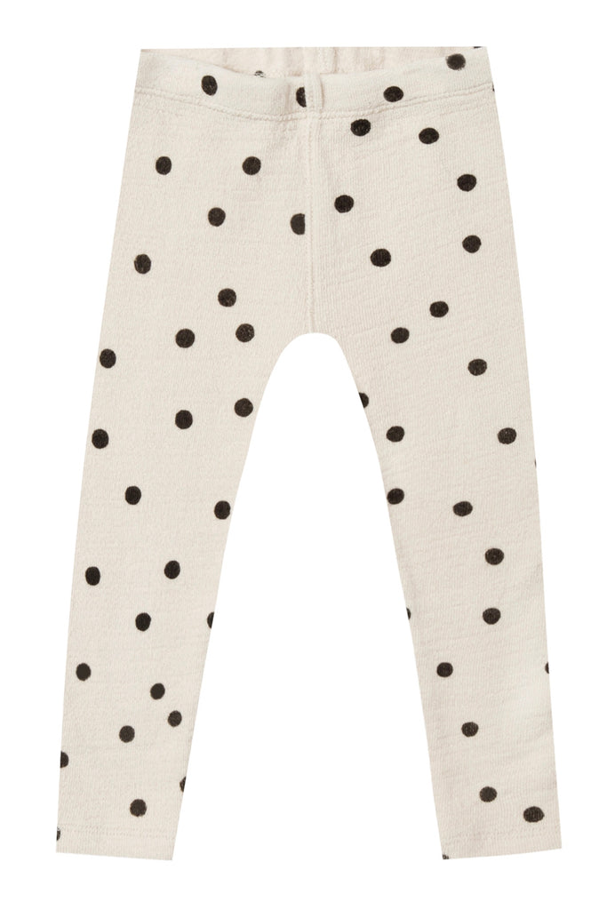 Polka Dot Knit Leggings | ROOLEE