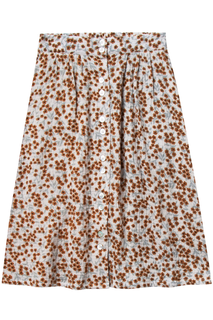 Floral Print Knee Length Skirt Outfit Ideas | ROOLEE Kids