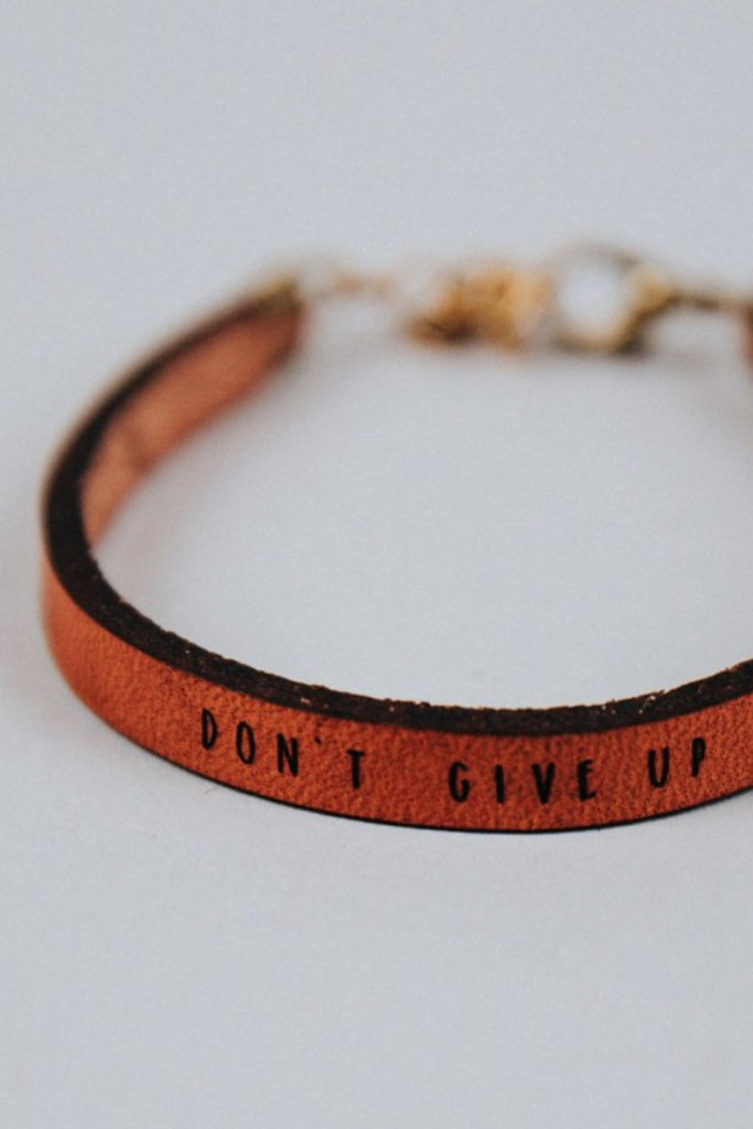 Don't Give Up Bracelet | ROOLEE