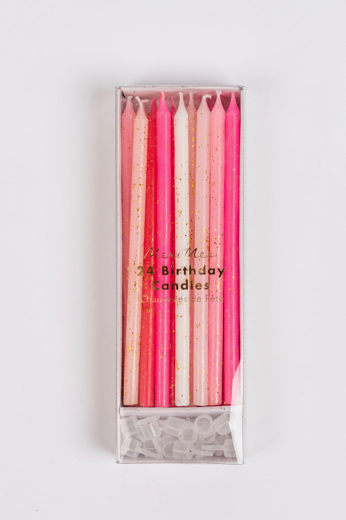 Pink Birthday Candles | ROOLEE