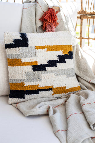 Colorblock Pillow Cover | ROOLEE