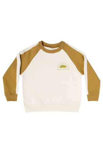 Kids fall retro pullover | ROOLEE