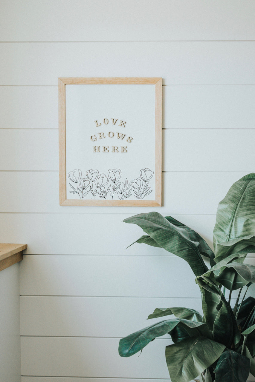 Modern Letter Board Home Decor | Rettel Board