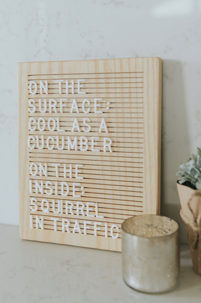 The Intro Letter Board