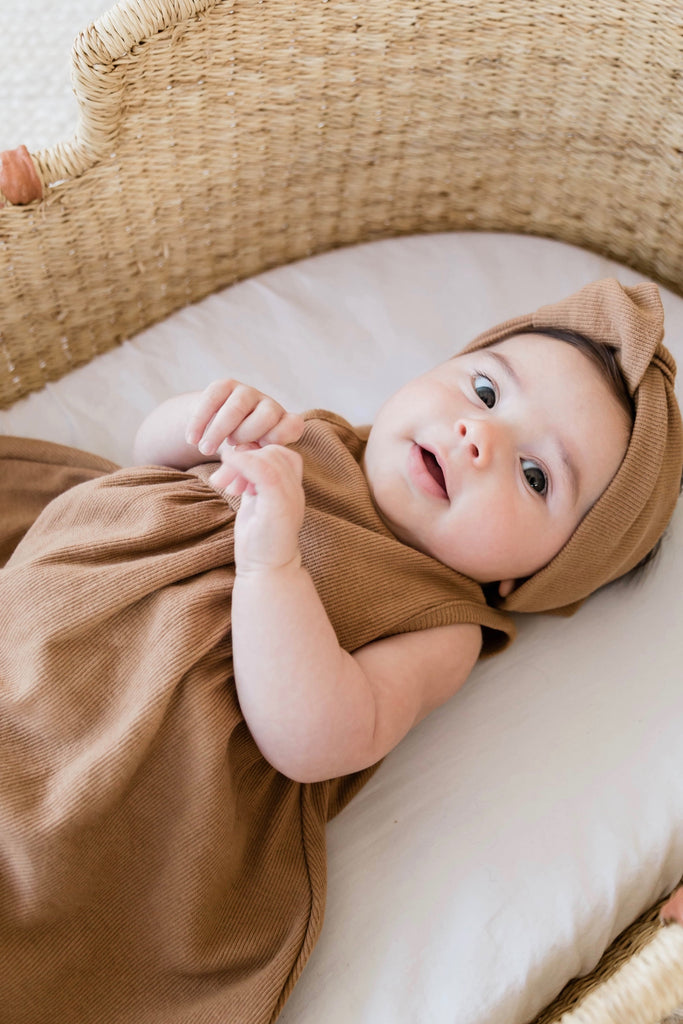 Baby Ribbed Dress | ROOLEE