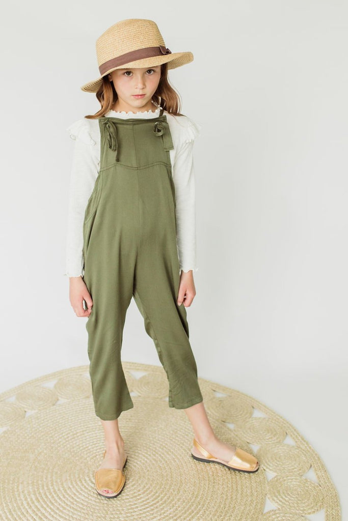 Millie Jumpsuit in Olive | ROOLEE