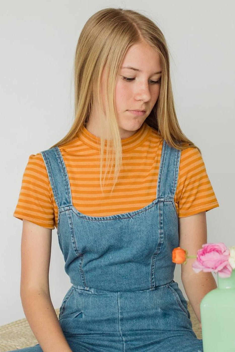 Orange You Glad Crop Top | ROOLEE Kids