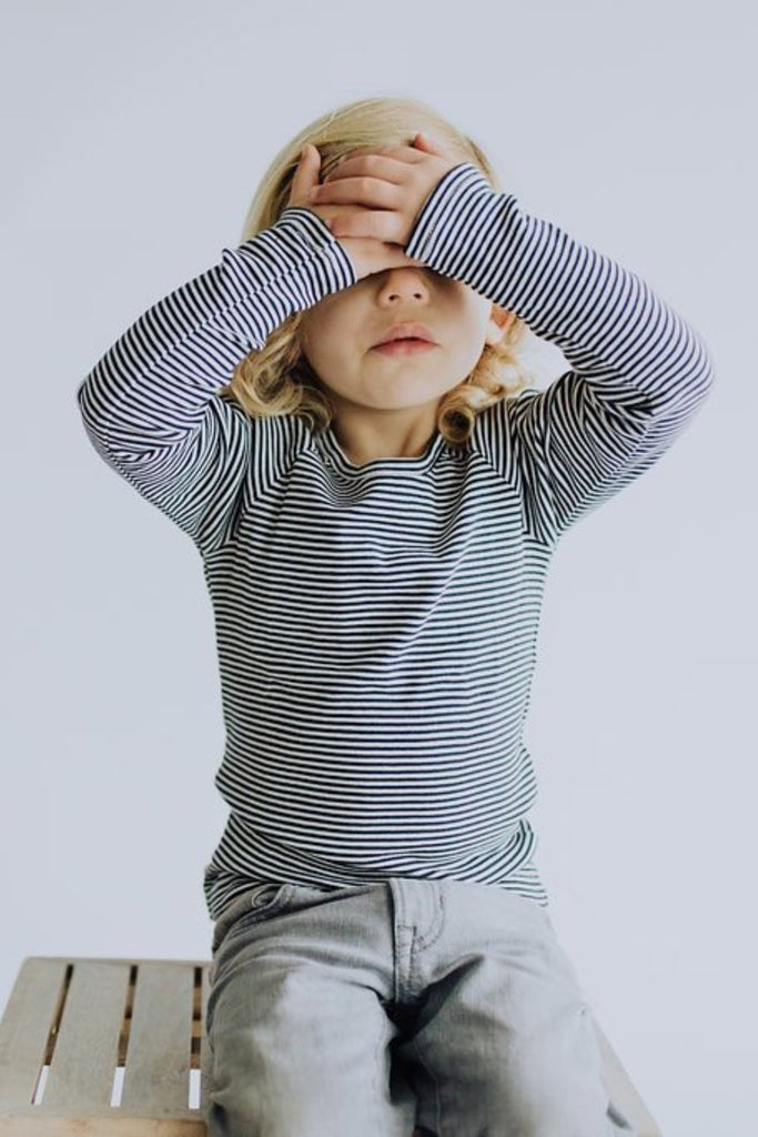 Stripe Tee Outfit For Kids | ROOLEE Kids