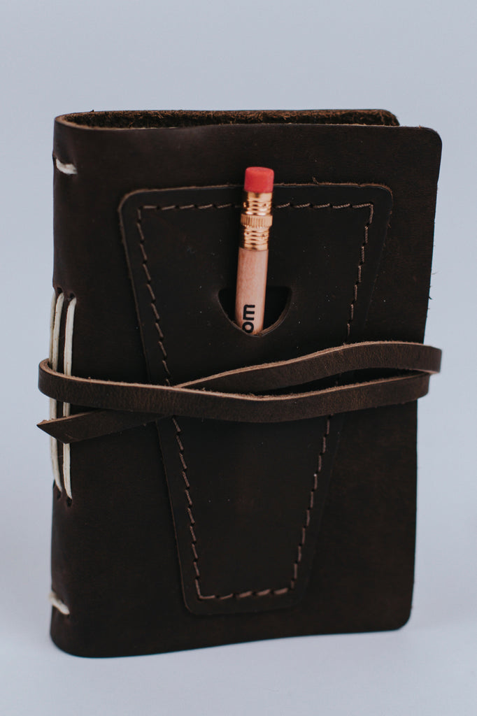 Epiphany Leather Journal with Pocket | ROOLEE Gifts