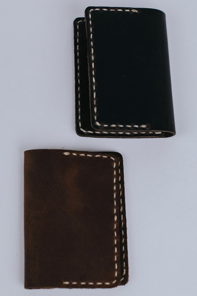 Hand Sewn Voyager Leather Wallet | ROOLEE Gifts