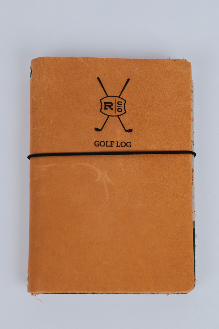 Leather Golf Log | ROOLEE Gifts