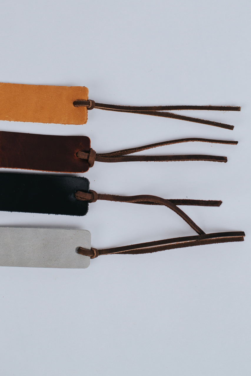 Leather Bookmark | ROOLEE Gifts