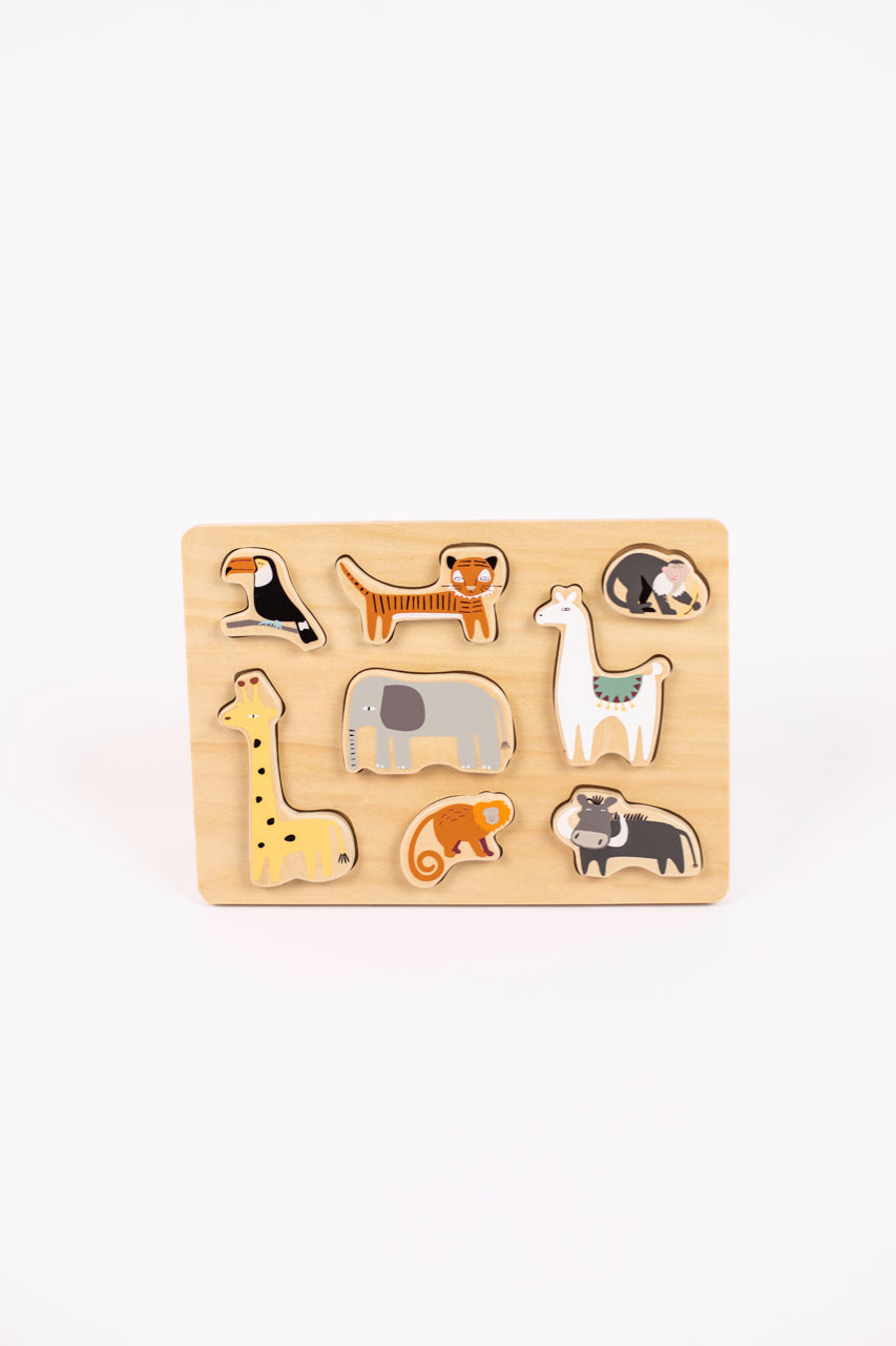 Wooden Animal Puzzle | ROOLEE
