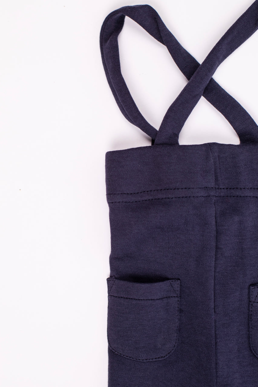 Navy Suspenders for Babies | ROOLEE