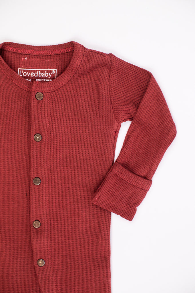 Button Up Thermal Onesie | ROOLEE