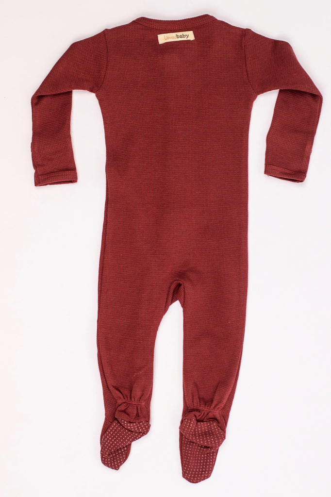 Red Thermal Onesie | ROOLEE