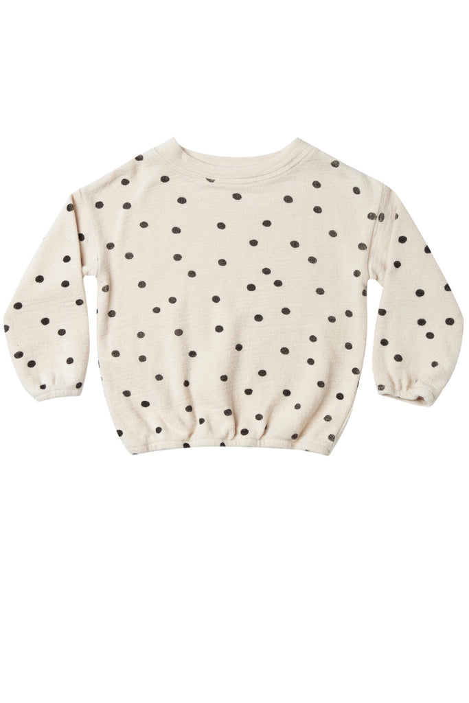 Rylee + Cru Slouchy Dot Pullover