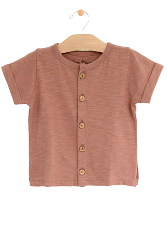 Kids Button Top | ROOLEE