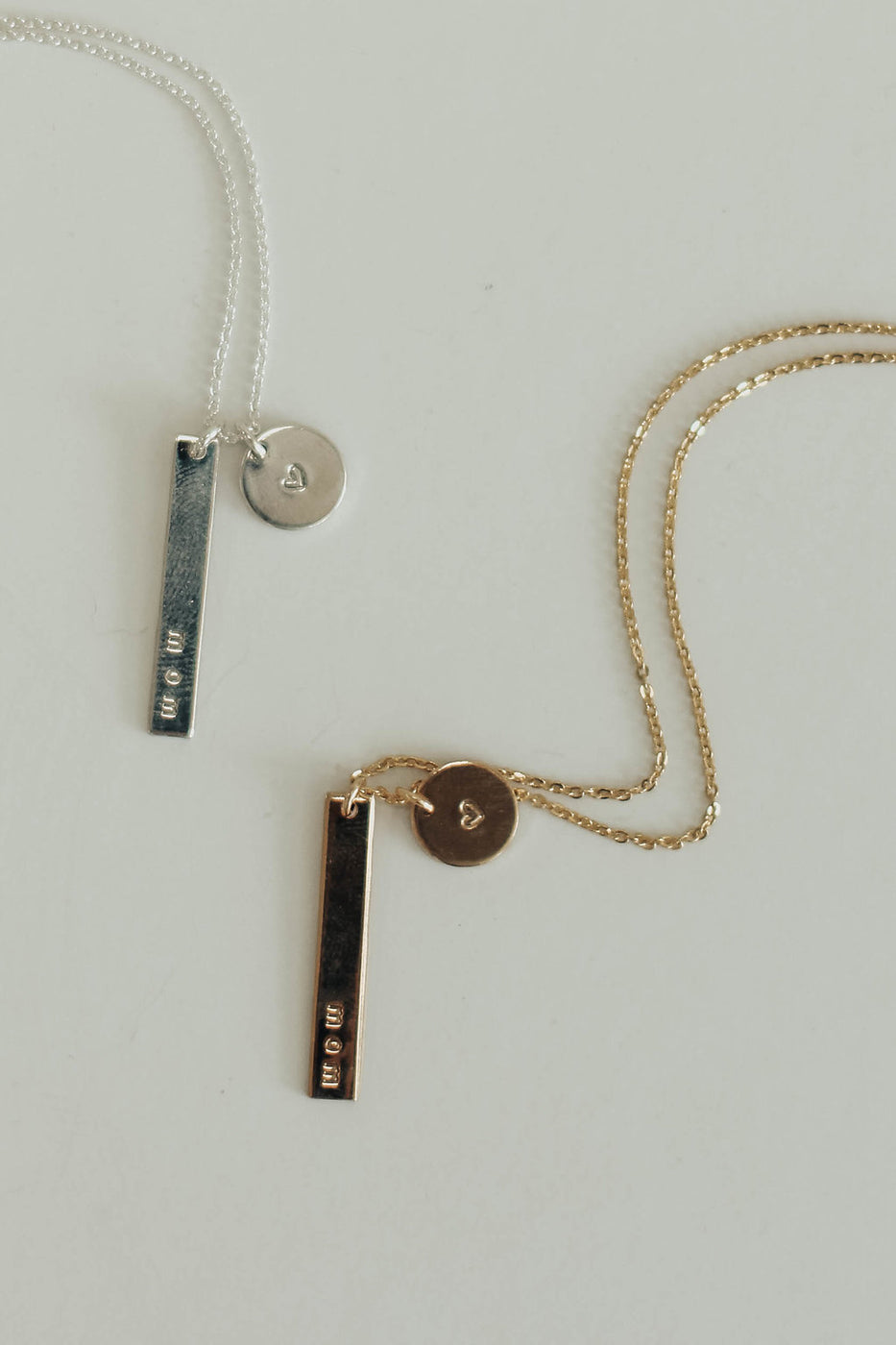 Minimalist Bar Necklace | ROOLEE