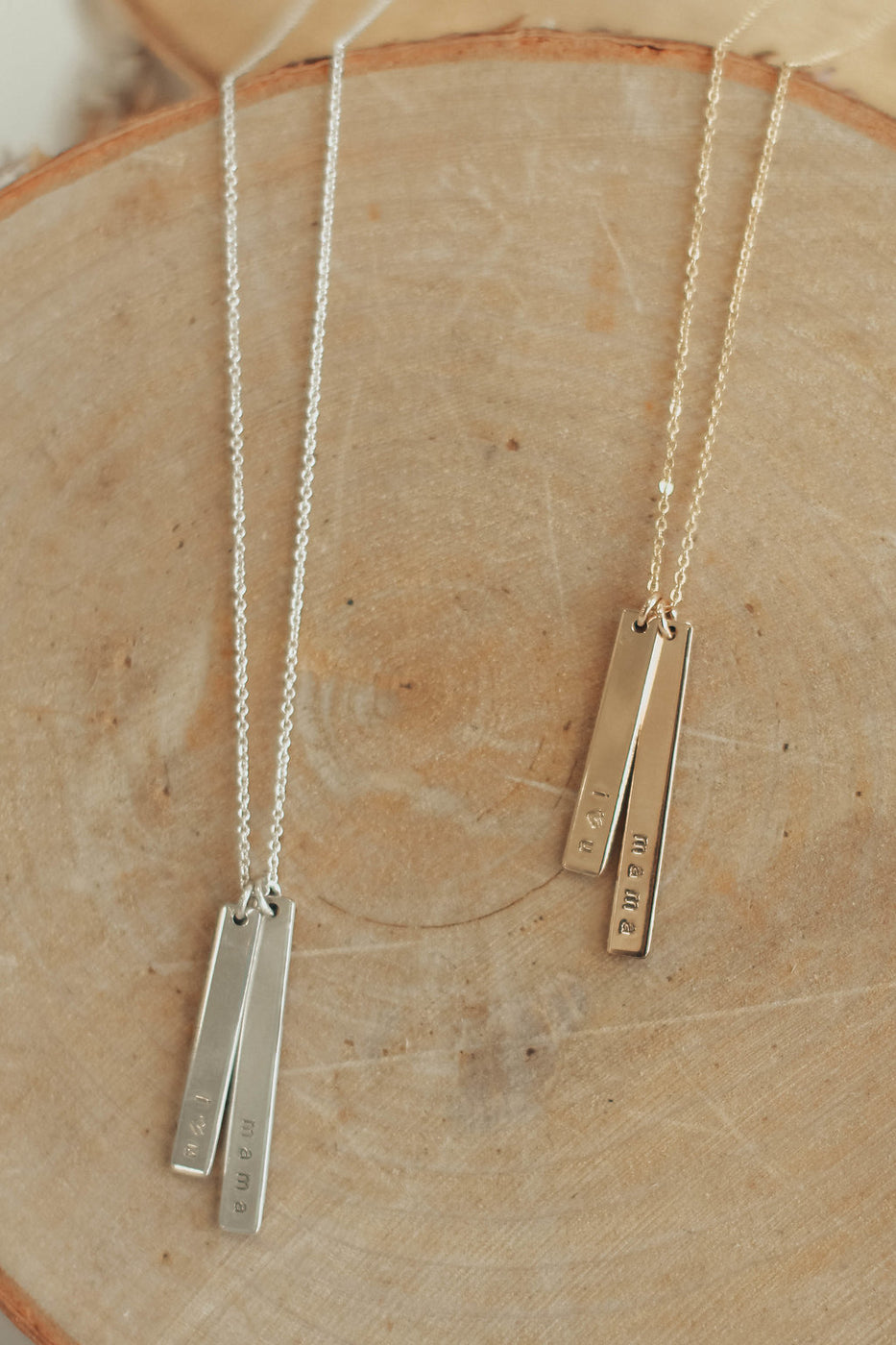 Gold + Silver Simple Jewelry | ROOLEE