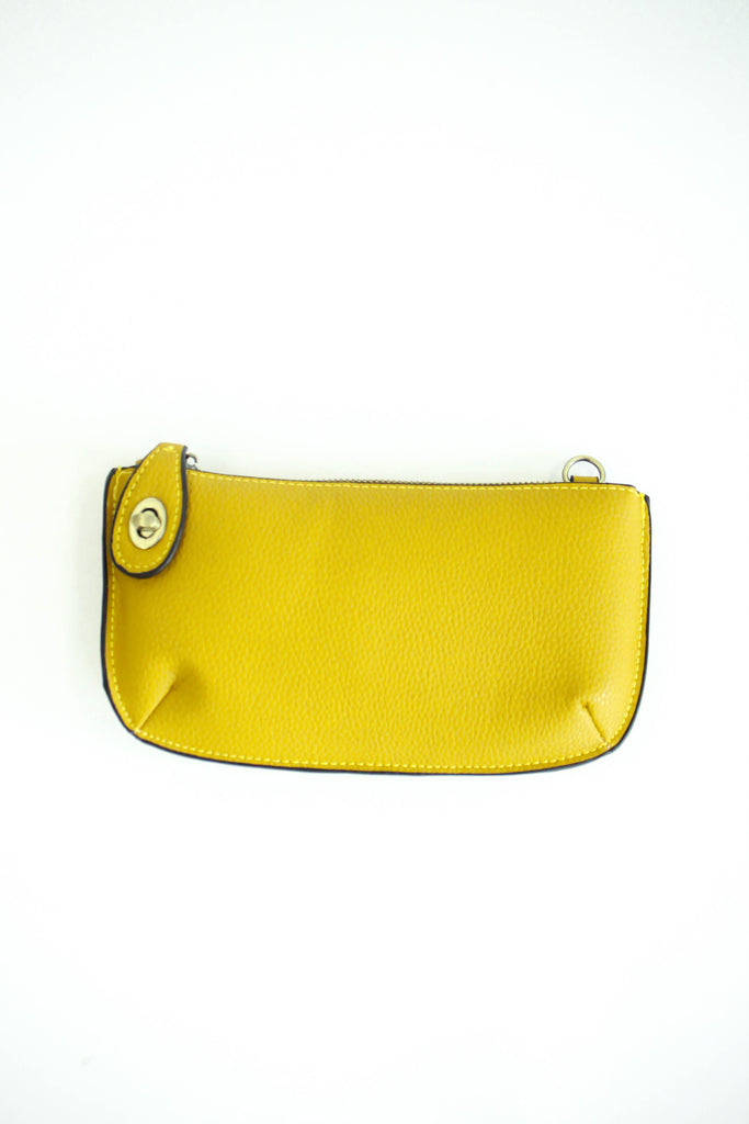 Uptown Messenger Purse in Mustard | ROOLEE