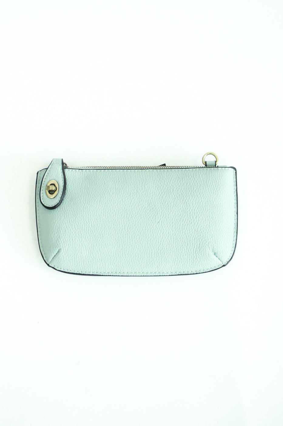 Uptown Messenger Purse in Pale Blue | ROOLEE