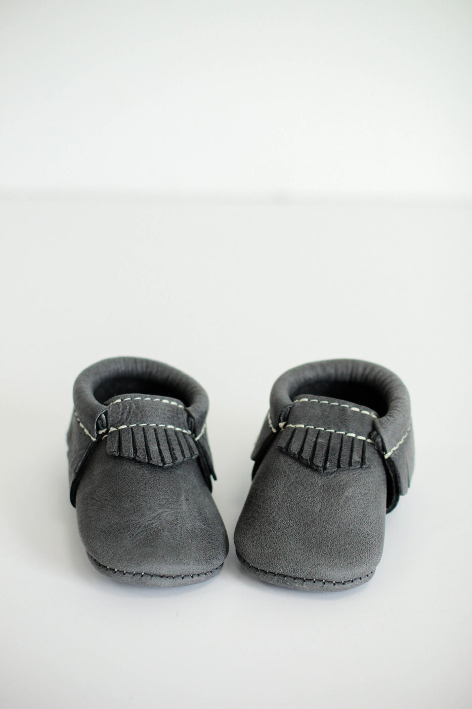 Freshly Picked Blue Spruce Utah Moccasins | ROOLEE Kids
