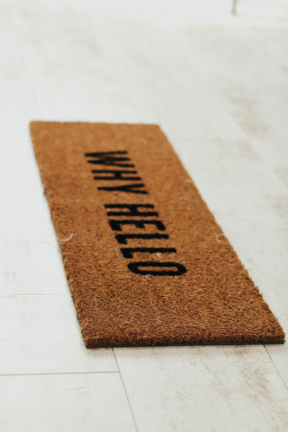 Instagram: @rooleeboutique U0027Why Hellou0027 Doormat | ROOLEE ...