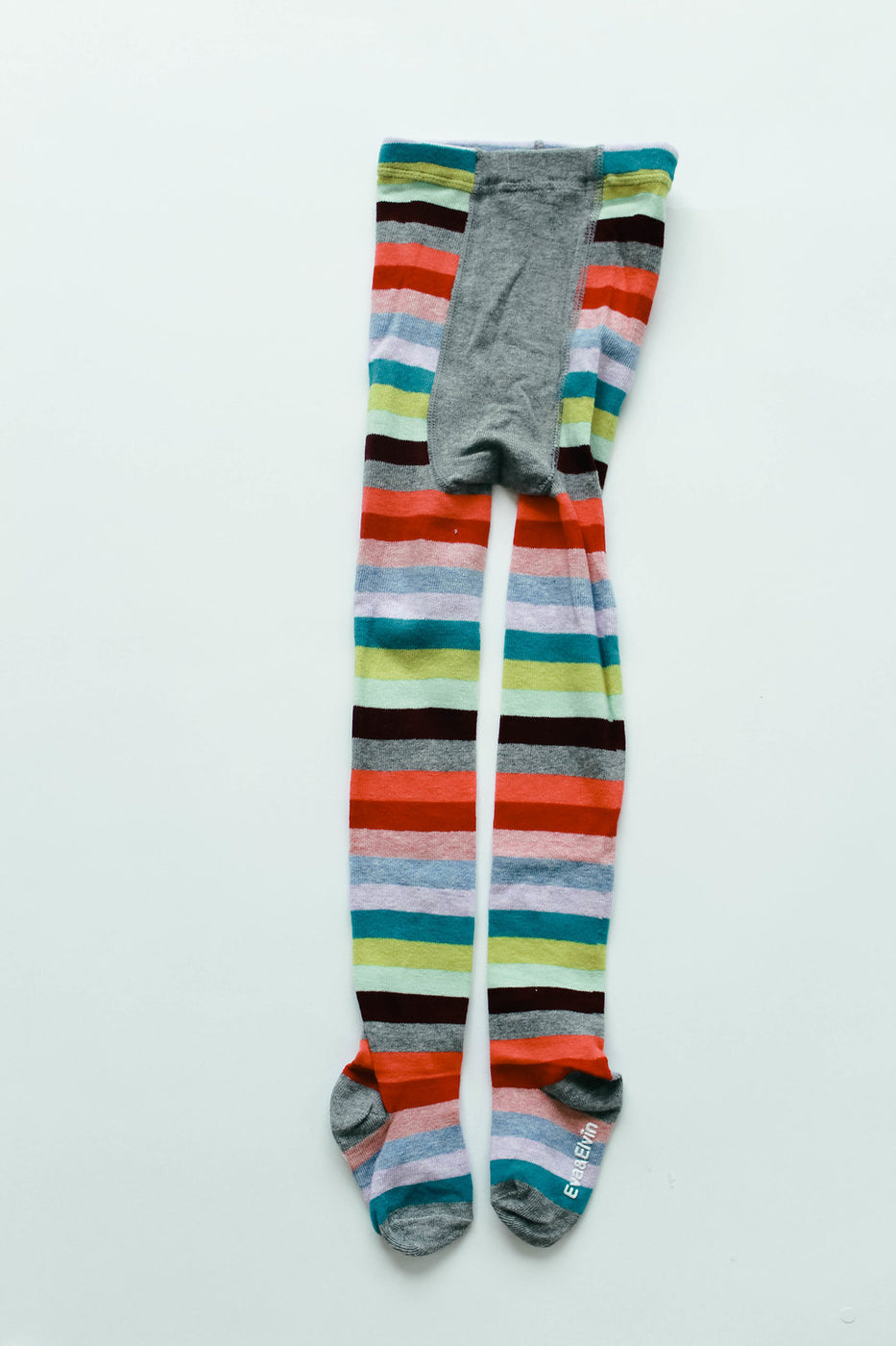 Over The Rainbow Stripe Tights | ROOLEE Kids