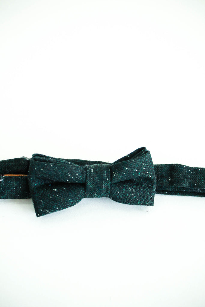 Clarence Bow Tie in Green | ROOLEE Kids