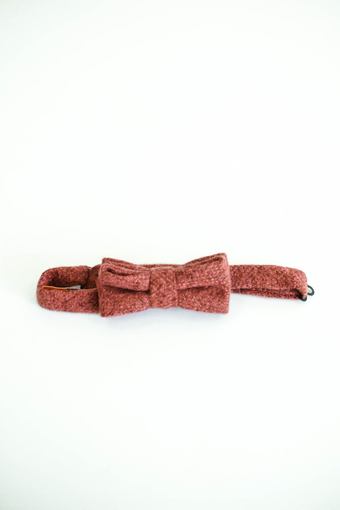 Clarence Bow Tie in Rust | ROOLEE Kids