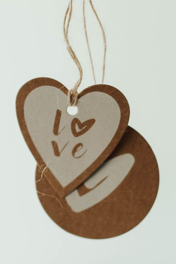 Heart Gift Tags | ROOLEE