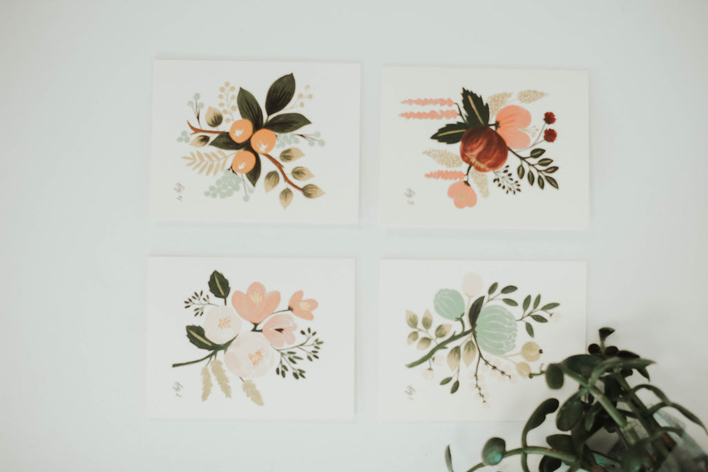 Floral Greeting Card Pack | ROOLEE