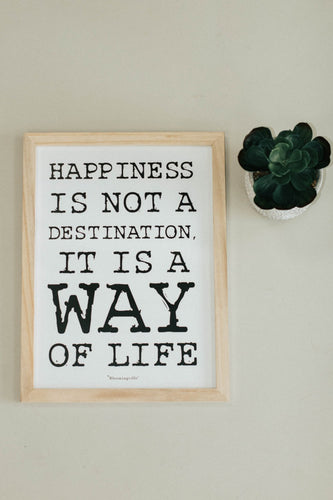 'Happiness Is' Wall Decor