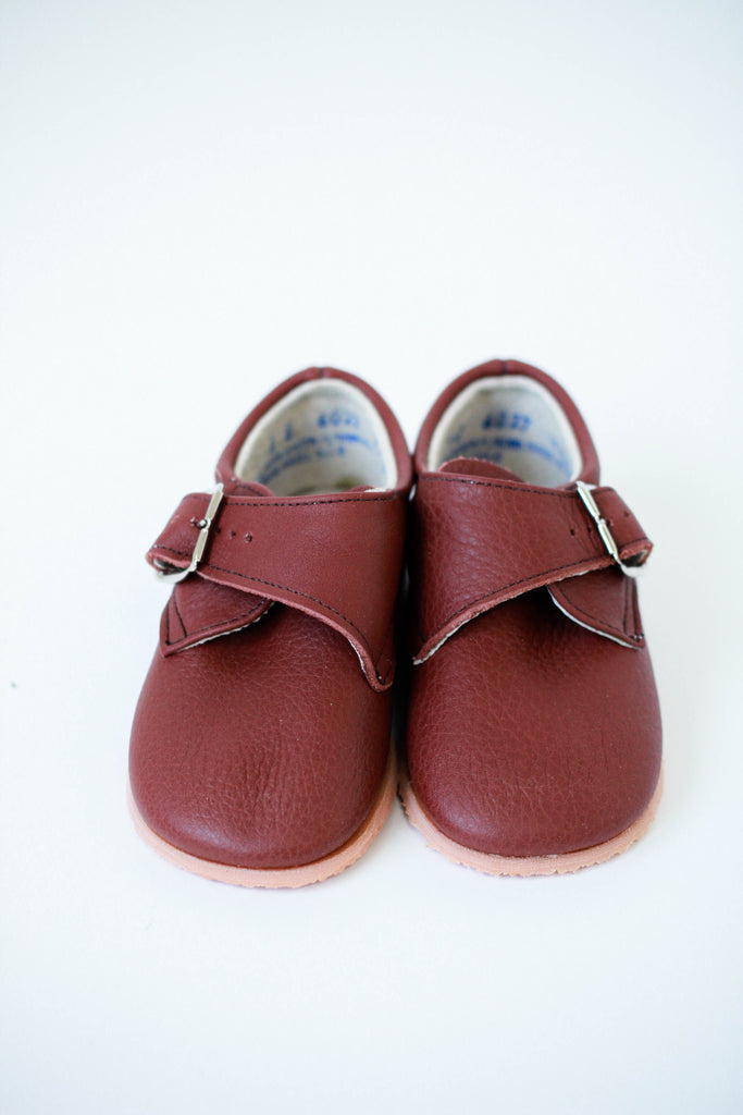 Harold Loafer in Burgundy | ROOLEE Kids