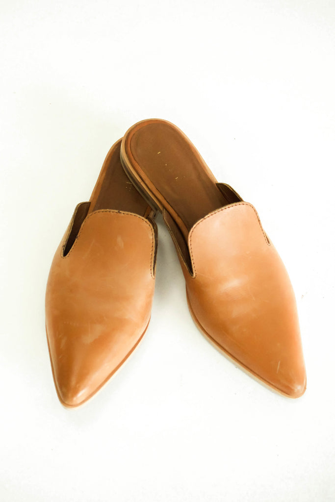 Brown Leather Shoes | ROOLEE