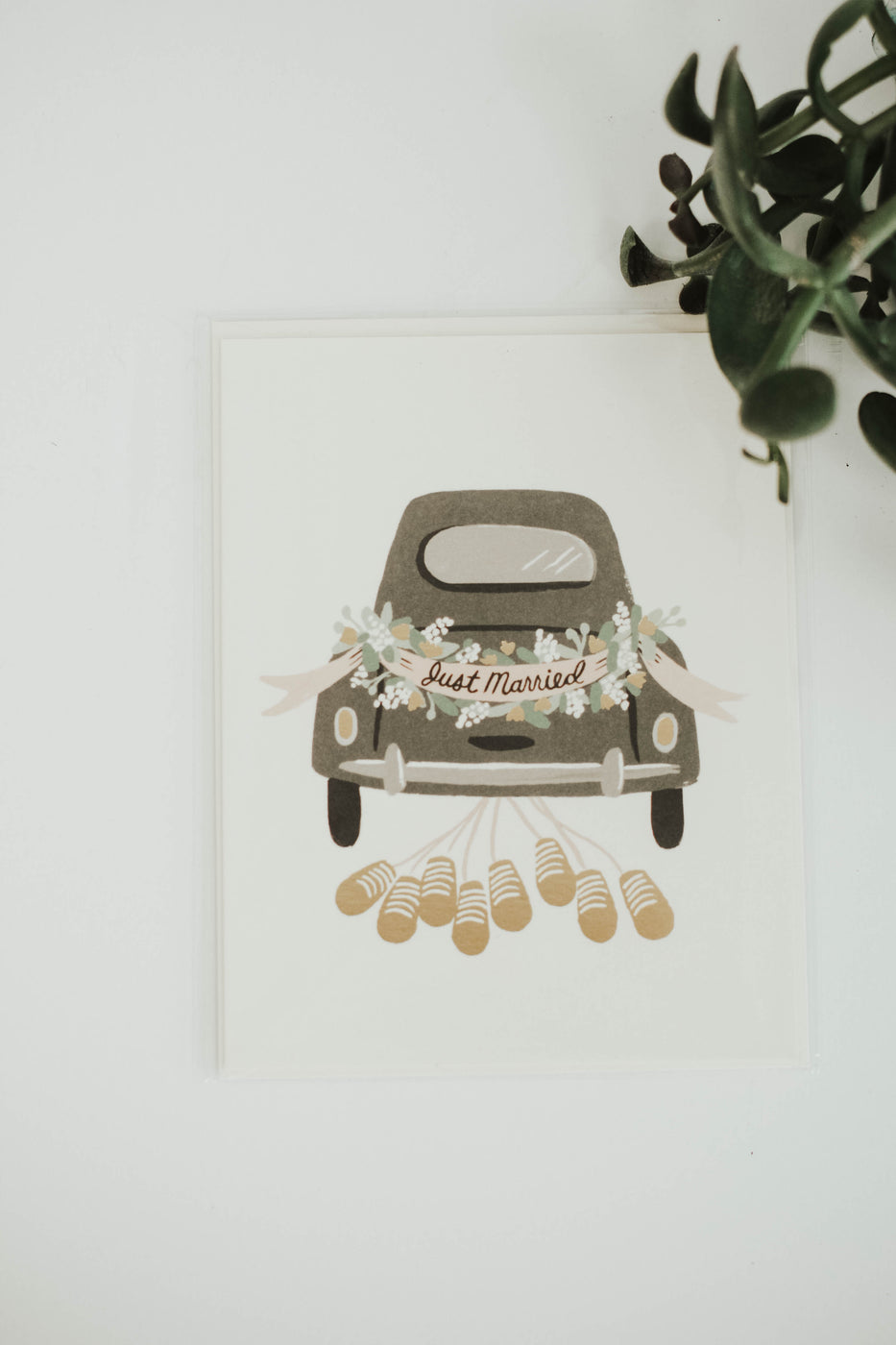 Just Married Getaway Card | ROOLEE